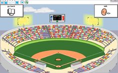 Baseball Visual Scene