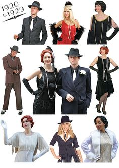 1920s Costumes. or a 20s theeemmeee!