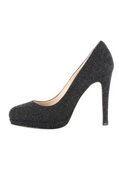 bestil Evita Højhælede pumps - black til kr 1.450,00 (18-11-16). Køb hos Zalando og få gratis levering.