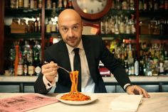 """Joe Bastianich is one of the ambassador at Expo Milano 2015. What is his favourite dish? """"Spaghetti al pomodoro!"""". The Italian cooking is irresistible even for those who have tried all the cuisines of the world. - www.100ita.com"""
