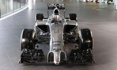 First look at McLaren Formula One team's 2014 car -- minus team principal Martin Whitmarsh - Autoweek Racing F1 news - Autoweek