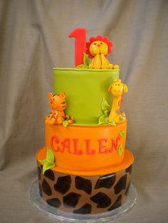 Safari Theme 1st Birthday | http://amazingbirthdayideas.blogspot.com