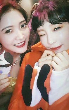 ❤ SNSD ❤ Kim TaeYeon ♡ 김태연 ♡ & Red Velvet 레드벨벳 : YeRi  : IG Story - SM Town Halloween party 2017