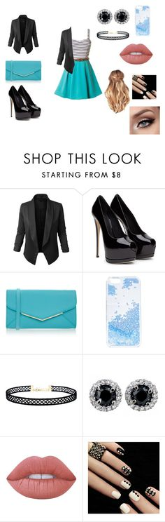 """Untitled #17"" by daniellelopez808 ❤ liked on Polyvore featuring LE3NO, Furla, Skinnydip, LULUS and Lime Crime"