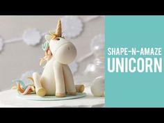 How to make a Unicorn Cake Topper - YouTube