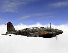 Mitsubishi Ki-21-I Sally.