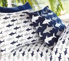 Preppy Shark Sheet Set | Pottery Barn Kids