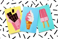 More DIYs if You're Bored Over the Summer - DIY Paint By Numbers Postcards | Karen Kavett