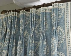 Pink pleated draperies Pinch pleated curtains Custom made