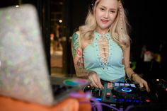 Fung Ter Pub on Charansanitwong Soi 92 invites to its Soft Opening party. Girl Dj, Night Club, Korea, Turquoise, Party, Invites, Outfits, Video