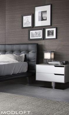 Inspirations Mens Bedroom Ideas - All Bedroom Design Tan Bedroom, Bedroom Decor, Bedroom Ideas, Bedroom Rustic, Bed Ideas, Bedroom Furniture, Leather Sofa, Leather Headboard, Black Headboard