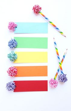 35 super cool Pom Pom Projects - A girl and a glue gun