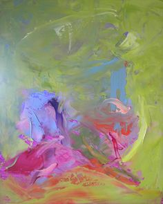 "Saatchi Art Artist: rebecca klementovich; Oil 2012 Painting ""Big Wow"""