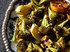 Roasted Broccoli with Lemon and Pine Nuts | Slideshow: Roasted Vegetables ...