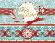 Paper Wishes Weekly Webisodes scrapbooking videos and card making videos feature a new and different paper crafting technique each week from the comfort of your own computer! Red Jewel, Scrapbook Supplies, Scrapbooking, Red Paper, Small Birds, Craft Kits, Ribbon Bows, Red And Blue, Card Making