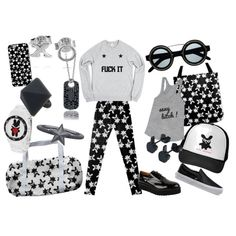 XOXO by fukuuu on Polyvore featuring moda, Vans, Giles & Brother and Pieces