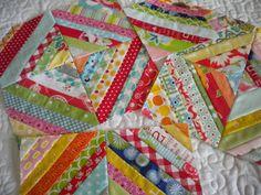 String Quilt Blocks--A Tutorial