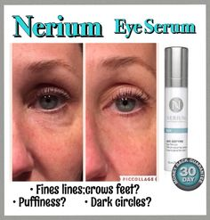 #EyeSerum #antiaging #Skincare #Nerium   Our New Eye Serum is amazing!! $60   www.nowickitl.nerium.com