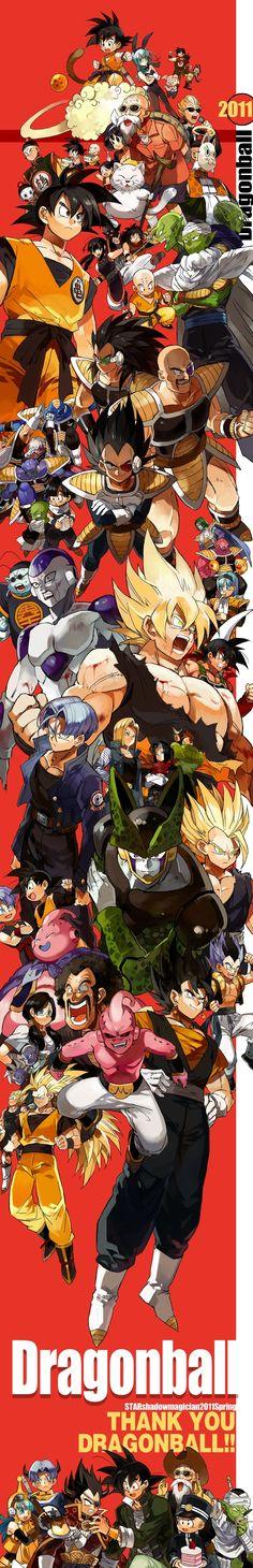 Dragon Ball to Majin Saga