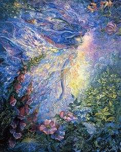 I Think I Saw a Fairy by Josephine Wall