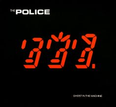 THE POLICE - Ghosts In The Machine