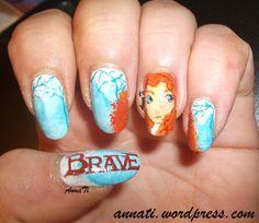 BRAVE #nail #nails #nailart