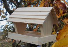 Birdhouse / Krmítko jako stavebnice 3 // by dřevěné-kouzlo
