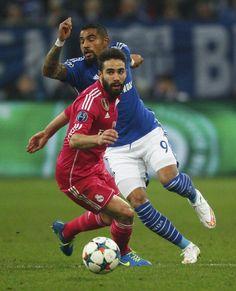 Dani Carvajal and Kevin Prince Boateng Schalke