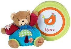 Kaloo Colors Small Bear with Mushroom Applique