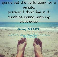 Jimmy Buffett - via Mermaid Musings/FB Ocean Quotes, Beach Quotes, Song Quotes, Wall Quotes, Life Quotes, Beach Bum, Ocean Beach, Ocean Girl, I Love The Beach