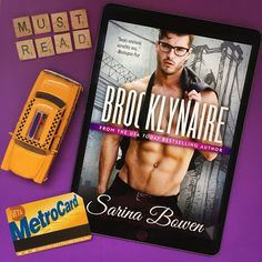 Happy release day to Brooklynaire by Sarina Bowen! Book Description A sexy new standalone from USA Today bestseller Sarina Bowen. You'd think a billion dollars, a professional hockey team and a. Personalized Books, Paranormal Romance, Usa Today, Romance Books, Book Lists, Book Review, Bestselling Author, Teaser, My Books