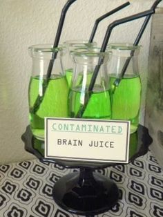 zombie party drinks