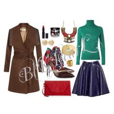 Brown Coat Coat: johnlewis.com Lipstick: newlook.com Eye Shadow:Chanel Necklace: aldo Earrings: Michael Kors Bangle: overstock.com Ring: Hammered Shoes: Nicolas Kirkwood Handbag: Jigsaw Shirt: escade Skirt: MSGM
