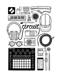 Novation Circuit   Design + Illustration   Knotably Studio