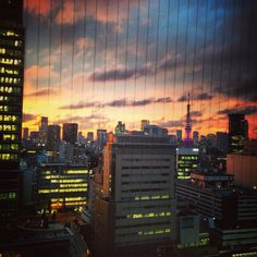#tokyo #sunset