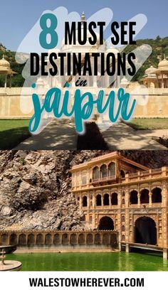 Eight of the most unmissable sites in Jaipur, Rajasthan. The city is a must for anyone visiting India, and these sites in particular will take your breath away.