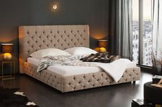 Posteľ PARISE NATUR Bed, Furniture, Home Decor, Environment, Diamond Pattern, Twin Size Beds, Decoration Home, Stream Bed, Room Decor