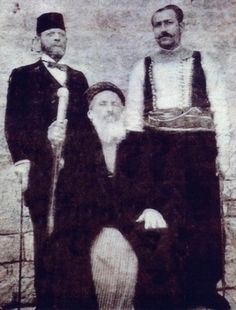 "Among the Sephardi and Mizrahi Jews of the Middle East, the title ""Hacham Bashi/חכם באשי"" was given to the Chief Rabbi of a certain provence of the Ottoman Empire. Above is the late Chief Rabbi of Aleppo, Syria, Rabbi Ya'akov Shaul Dwek of blessed memory. Jewish History, Jewish Art, Mizrahi Jews, Syrian Jews, Ashkenazi Jews, Aleppo, Antique Photos, North Africa, Tribal Art"