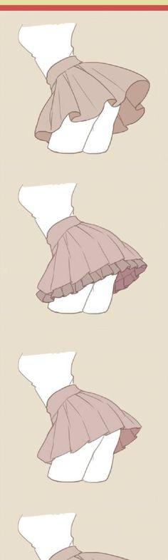 Skirt tutorials / references