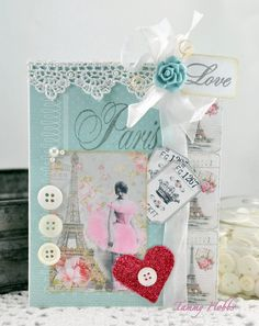 Ballerina Card by Tammy Hobbs @ Creating Somewhere Under The Sun