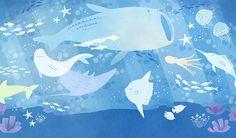 巡るいのち 水族館 アクアリウム 海中 ジンベイザメ スナメリ マンタ マンボウ タコ 魚 海