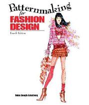 """Patternmaking for Fashion Design and DVD Package By Helen Joseph Armstrong. """"For anyone developing their patternmaking skills."""""""