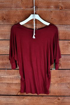 This 3/4 SLEEVE RAY BODY SOLID TOP is so soft and comfortable, everyone should have one in their closet!   JERSEY	 95% RAYON 5% SPAN