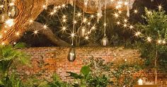 An Ideas About Patio & Lighting: String lights are often used in wedding holiday and home decoration and they can always make you feel warm cozy and romantic. http://ift.tt/1YFBhSq
