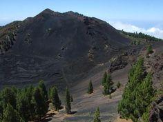 La Palma. Volcanos route.