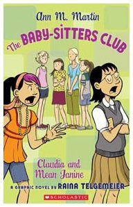 Raina telgemeier babysitters club books