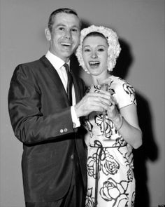 Johnny Carson and Joanne Copeland at their surprise #wedding in 1963.