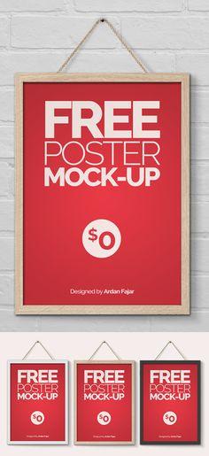 Free Poster/Flyer Mock-Up