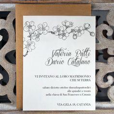 Wedding Invitation - Partecipazioni di Nozze - Collezione 2013/14, Modello Classic - By Il Laboratorio di Carta