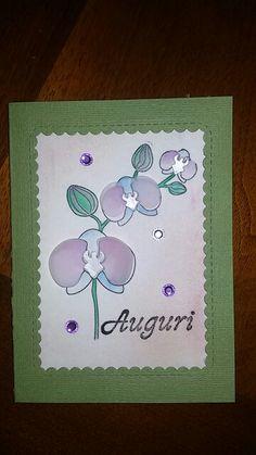 Card orchidea